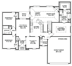 5 bedroom one story house plans 5 bedroom single story house plans koszi club