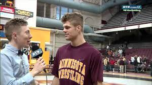 dylan shaircut dylan ness interview minnesota wresting youtube