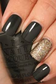 black and silver nail polish designs how to nail designs