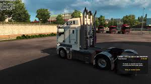 kenworth truck repair driving my new kenworth k200 around london youtube