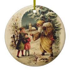 world santa ornaments keepsake ornaments zazzle