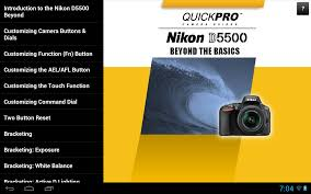 guide to nikon d5500 beyond 2 0 0 apk download android