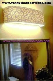 bathroom light shade vanity shades of vegas