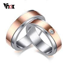 aliexpress buy vnox 2016 new wedding rings for women aliexpress buy vnox stylish 6mm wedding band ring for