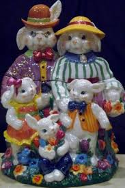 Easter Bunny Decorations Ebay by 294 Best Bunny Cookie Jars Images On Pinterest Vintage Cookie
