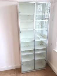 Ikea White Bookcase With Glass Doors Bookcase Antique Mahogany Bookcase With Glass Doors Bookcase
