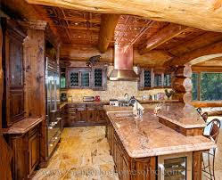 Log Home Interiors Photos Log Homes Kitchen U0026 Dining Image Gallery Bc Canada