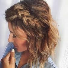 how to get a lifted crown hairdo 17 chic braided hairstyles for medium length hair dutch braids