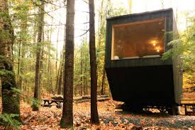 Tiny House For Two by Tiny Homes For Rent 3 Cool Getaways In The Woods Curbed