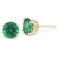 emerald green earrings emerald earrings ebay