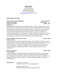 Resume Employment History Sample by Resume Samples U2013 Expert Resumes