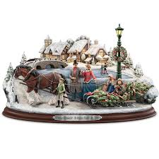 153 best collection kinkade images on snow globes