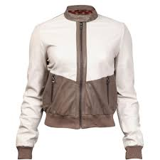cloth moto jacket durango leather company women u0027s cream and brown moto jacket