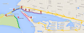 destin map the 4 best places to view the destin harbor fireworks