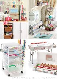 wrapping paper station ultimate gift wrapping stations at home with vallee