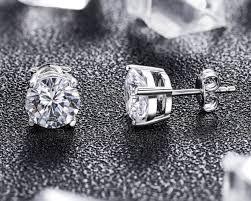 big diamond earrings how big should diamond stud earrings be dmia