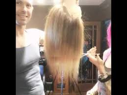 cutting hair upside down upside down layer cut youtube