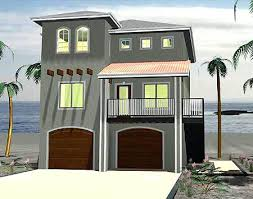 narrow waterfront house plans sophisticated waterfront home plans on pilings gallery simple