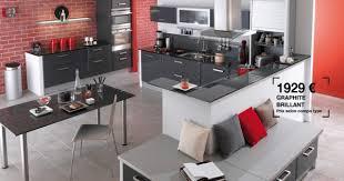 cuisine domaine lapeyre lapeyre cuisine catalogue agrandir la cuisine mixe style bistrot
