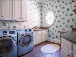 laundry room cozy contemporary laundry room wallpaper border