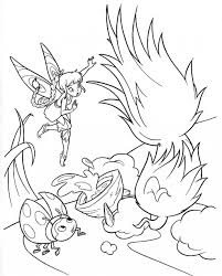 tinkerbell coloring pages simple silvermist coloring pages