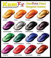pearl car paint basecoat clearcoat car paint kit 16 colors