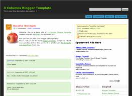 ftw blogger template eblog templates