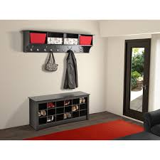 Red Entryway Bench by Shoe Bench Hallway Amazingly Useful Furniture Element For Any