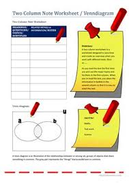 5 free esl venn diagram worksheets