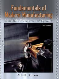 fundamentals of modern manufacturing 4th edition by mikell p groover