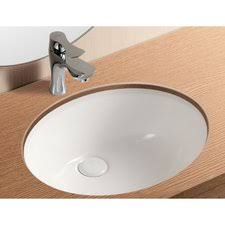 oval undermount bathroom sink ceramica ii oval undermount bathroom sink with overflow by caracalla