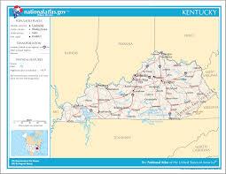 Lake Cumberland Map File Map Of Kentucky Na Png Wikimedia Commons