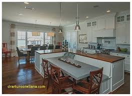 table attached to kitchen island beautiful beautiful kitchen