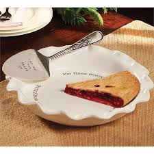 mud pie platter circa pie plate server set mud pie