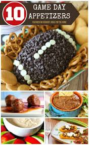 game day recipes 10 super bowl party appetizer ideas