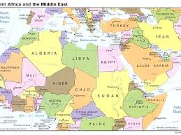 arab countries map map of the arab countries major tourist attractions maps tearing