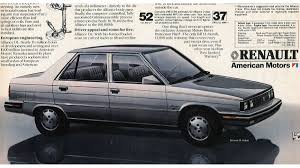 renault 1980 1983 the wisconsin built renault alliance is the future of the
