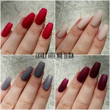 matte fall winter press on gel polish fake nails beige