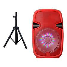 moonlight speakers portable bluetooth dj speaker with stand