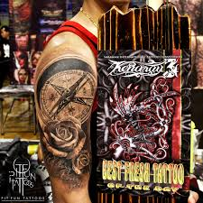 best of the day in kenarau 3 sarawak international tattoo