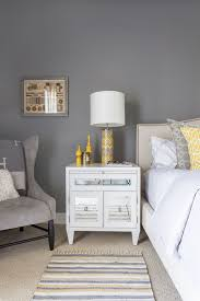 Yellow And Gray Bedroom Ideas Snug Los Angeles Property Captivates With Color And Ingenuity