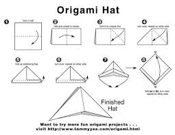 How To Make A Robin Hat Out Of Paper - origami pan hat how to make a pan or robin hat