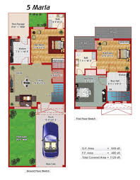 100 home design for 7 marla 10 bedroom house plans latest