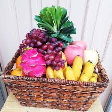fruit in a basket gift basket my regalo to the philippines send gifts to