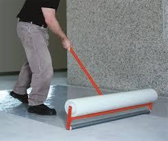 plastic protector by floor mats