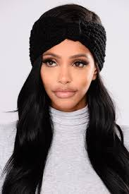 black bow headband lil bow headband black
