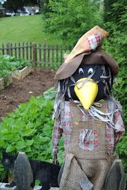 123 best scarecrows for the potager images on pinterest