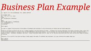 writing business plan examples ca cmerge