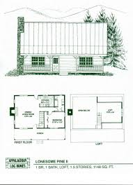 cabins plans free log cabin floor plans home decor small with loft totally diy