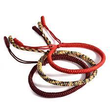 knot rope bracelet images Lucky handmade buddhist knots rope bracelet zenup jpg